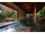 月宮殿「三日月風呂」紅葉