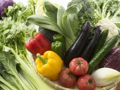 健康と美容に配慮し、新鮮な野菜をふんだんに使用したバイキング♪