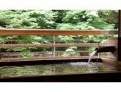 利根川渓流沿いにある、趣の異なる八つの湯舟をお楽しみください。