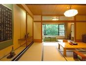 谷川岳を望む和室8畳+3畳(一例)