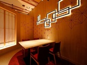 デザイナーズルームで過ごす寛ぎの食空間☆個室ダイニング「彩」2020年3/20オープン!