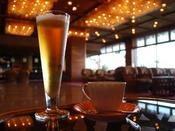 お風呂上りに嬉しい 湯上り生ビール、朝はモーニングコーヒーで至福のひととき!