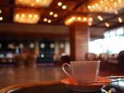 海の見えるラウンジ「水彩」にて朝のひとときモーニングコーヒーをどうぞ