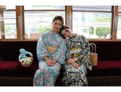 女子旅にオススメ!7月~8月は浴衣レンタルのみです☆※写真はイメージ