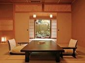 *<和邸 山王院「花」> 和10畳+和6畳の広いお部屋。グループにオススメです。