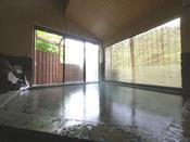*【男湯「岩魚の湯」】男性風呂&貸切露天風呂です。4つのブレンド温泉をご堪能ください。