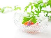 *【夏のお料理一例】四季折々の味わいをどうぞ。