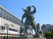 【JR岡山駅 東口】ホテルは西口側になります。岡山駅より徒歩1分