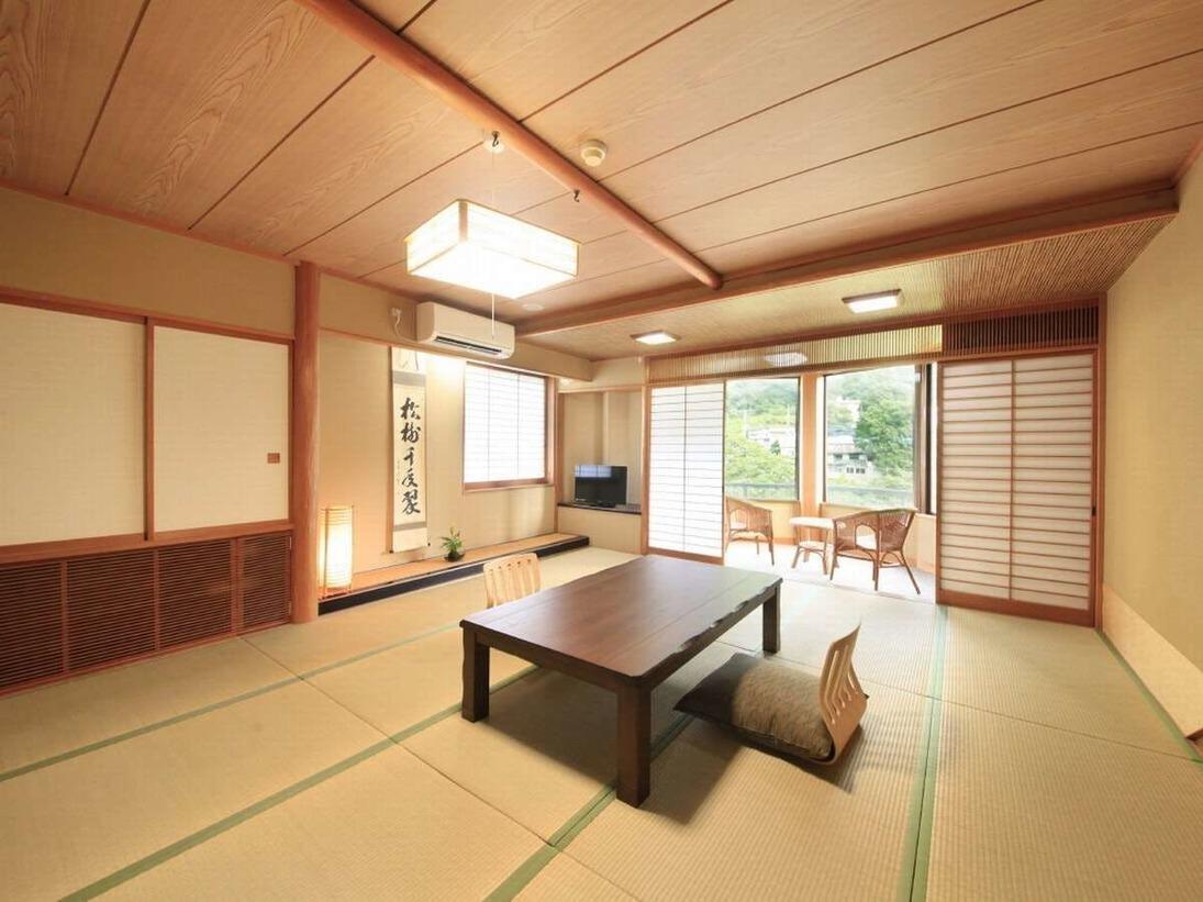 【利根川を望むお部屋】和室15畳(一例)