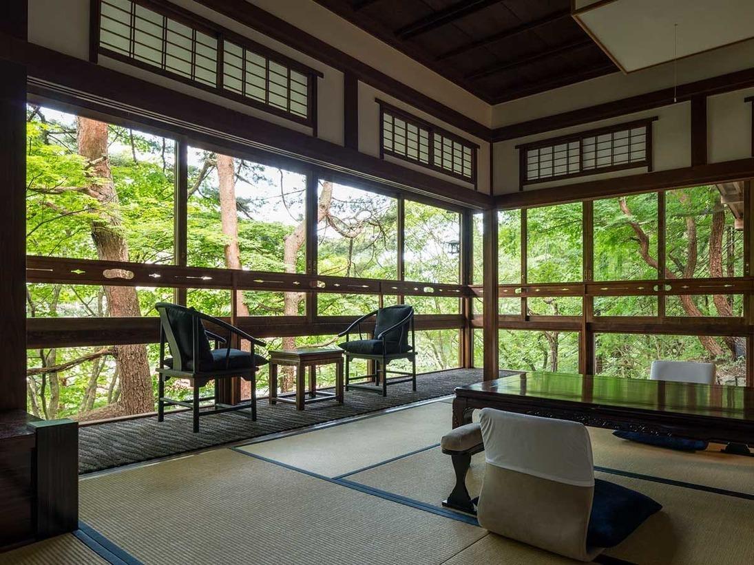 【山荘】 五ツ星 角部屋 和洋特別室
