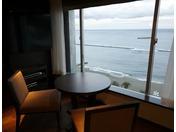高層階客室からの眺め