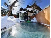露天風呂:昼※モダンな雰囲気でサウナを併設する新露天風呂。至福のひと時をあなたに・・・