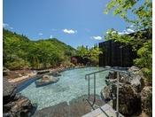 新館入浴施設「なごみの湯」露天風呂