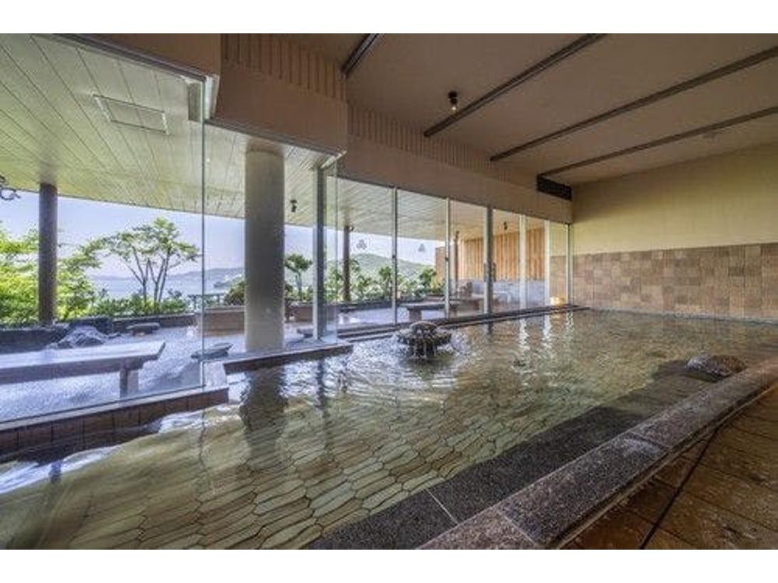 望館6階 風見の湯 内湯