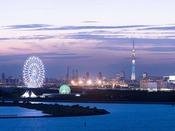 【オーシャンビュー】東京スカイツリーと葛西臨海公園 ※イメージ