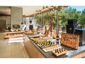 【朝食ブッフェ】おにぎりステーション