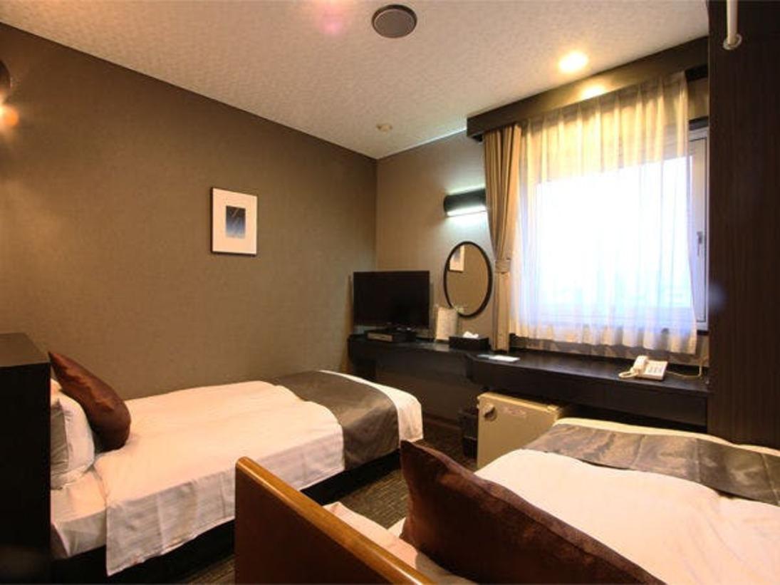 ☆ファミリーツインルーム☆■広さ15平米■ベッド2台