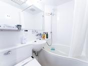 少ないお湯でゆったり入浴していただけます、アパホテルオリジナル「卵型浴槽」
