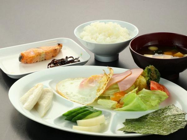 シンプルな健康和朝食