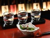 【日本酒Bar香林】スタンダード飲み比べセット