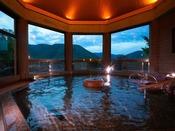 【夕霧の湯】[大浴場] 営業時間AM6:00~AM9:00/AM11:00~翌AM0:00※男女入替