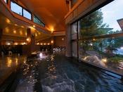 【朝霧の湯】[大浴場] 営業時間AM6:00~AM9:00/AM11:00~翌AM0:00※男女入替