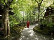 2万坪の広大な日本庭園/四季折々の散策を愉しむ