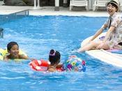 夏季ガーデンプール/ご宿泊のお客様専用の安全安心な水遊び(無料)