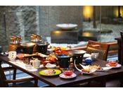 夕食の会席料理(イメージです)。それぞれの季節にぴったりなメニューにこだわりあり★