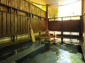 *<別邸 美月庵「鶯」> 広めの源泉掛け流し露天風呂でゆったり。