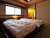 *<別邸 美月庵「月」> 広々としたベッドルームで快眠!