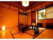 *<別邸 美月庵「萌」> こじんまりとした落ち着いた和室のお部屋。