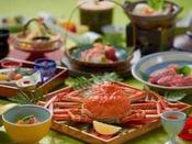 ズワイ蟹1枚付き和会席(10~3月冬季)