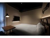 12平米・140cmシモンズベッド当館スタンダードのお部屋です。