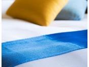 【和室 えんつこ】無農薬で栽培された青森県産の藍の葉を用いる藍染「あおもり藍」。