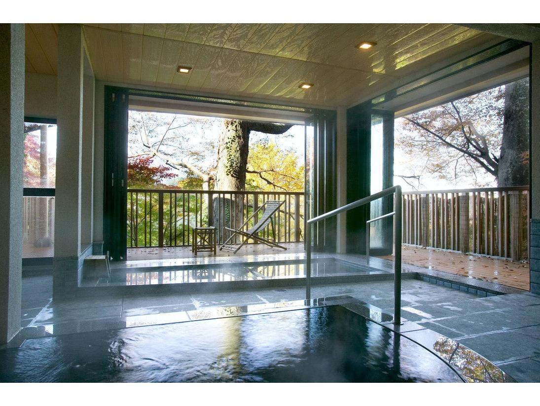 露天風呂・サウナ付き大浴場 「むささびの湯」