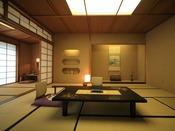 【松琴亭】大正屋でも最高峰の客室。