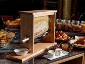 朝食 ブッフェ「人気の天然の蜂蜜がおすすめです。」