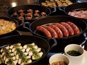 朝食ブッフェ「豪華なグリル料理をお召し上がりいただけます。」