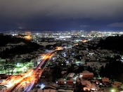 タワー館客室からの夜景