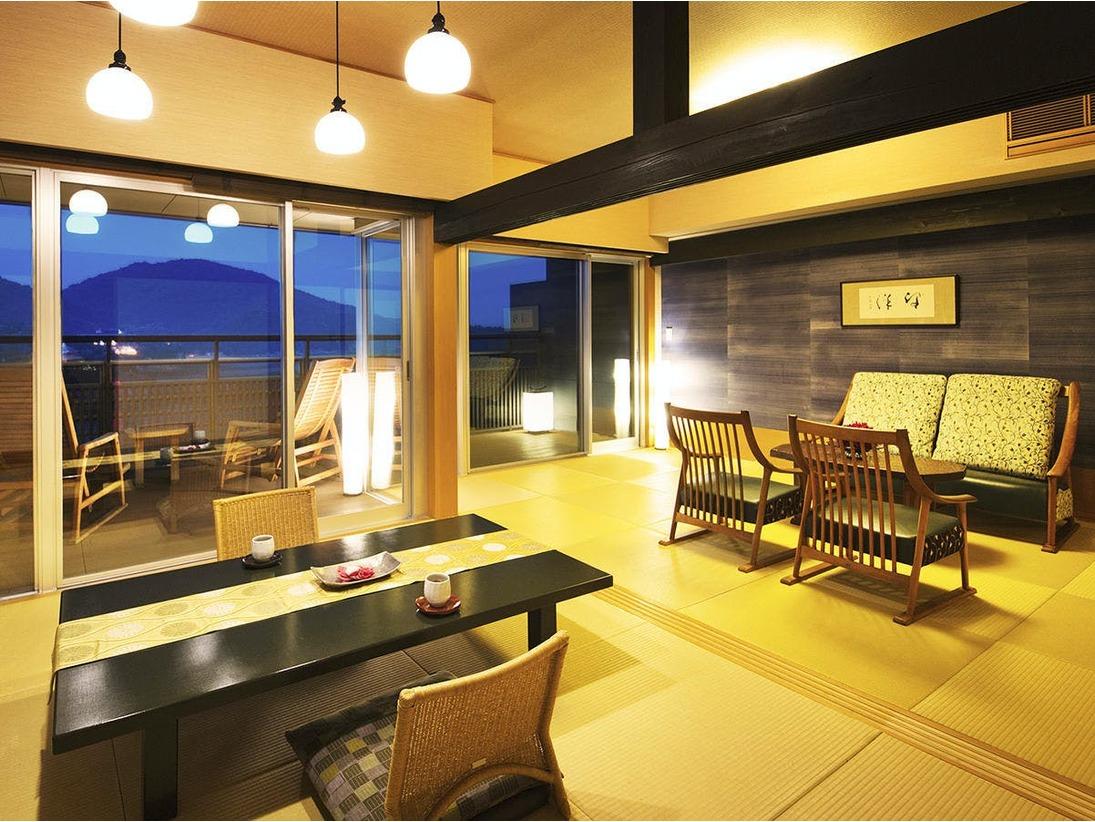 ◆最上階アッパースイート客室◆『ツインベッド+和室リビングダイニング』