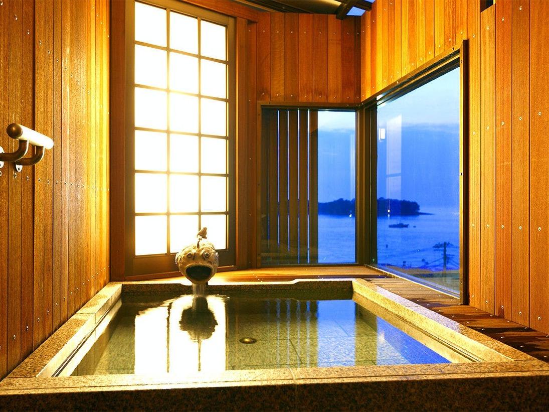 大浴場 半露天風呂
