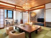 鳴門海峡を望む絶景のデザインルーム和室10畳(禁煙)