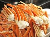 ランチ・ディナーで大人気のずわい蟹食べ放題!