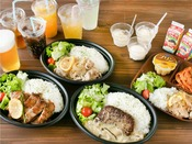 【ワンプレートディナー】お好きなプレートとドリンク&アイス付☆お部屋でもお召し上がりいただけます。
