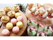 【夕食バイキング(デザート)】デザートコーナーも充実しております!