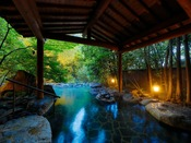 【しいばの湯】自然を眺めながら日頃の疲れを癒す、そんな贅沢なひとときをお過ごしください。無料・送迎有
