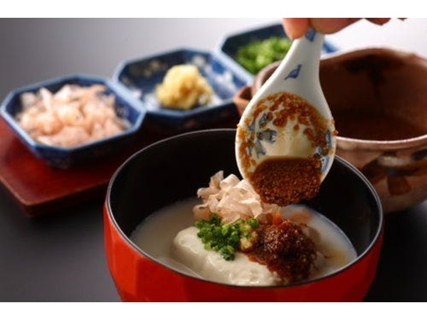 とろける湯豆腐