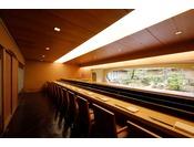6階日本料理「弁慶」寿司カウンター