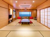 【禁煙】コンセプトルーム「Room TSUNAGARU和」18畳和室 110インチの大画面有
